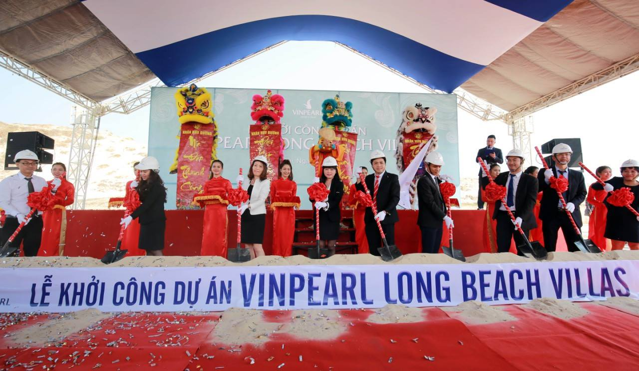 le khoi cong du an vinpearl long beach villas