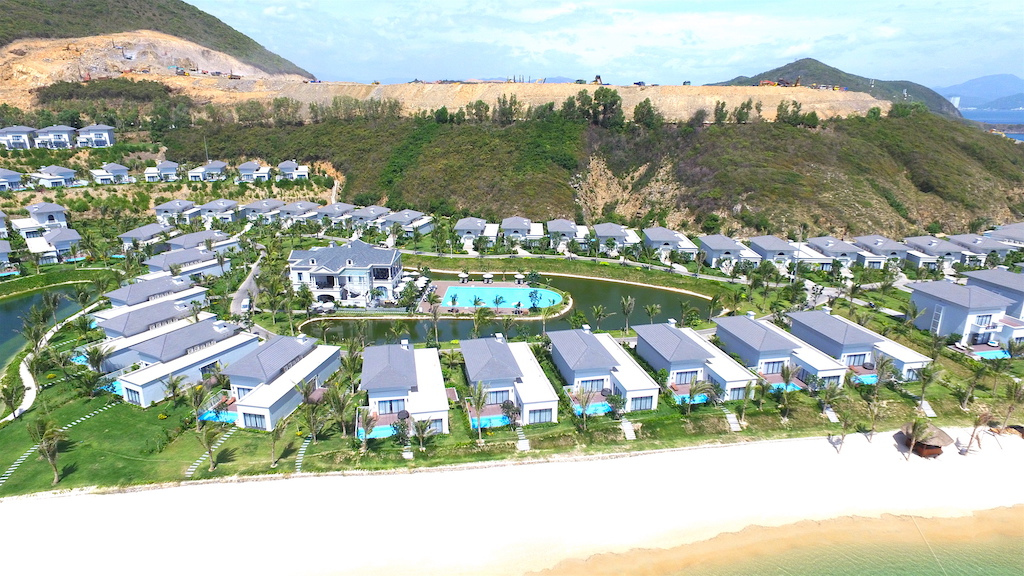 tien do du an Vinpearl Golf Land Nha Trang Resort & Villas