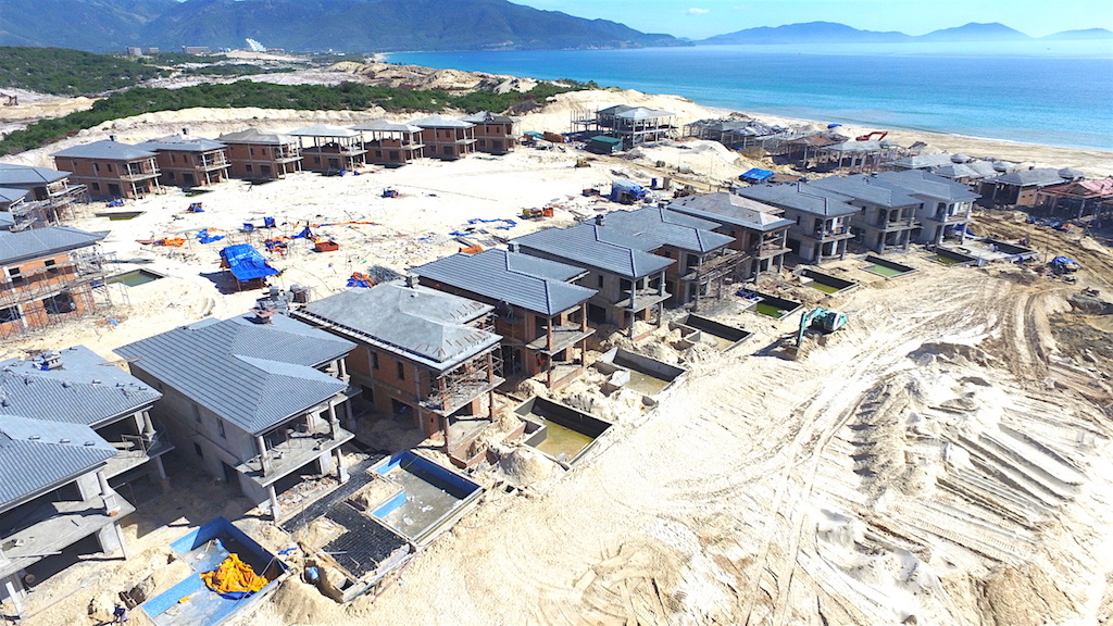 tien do xay dung du an vinpearl long beach villas tai bai dai
