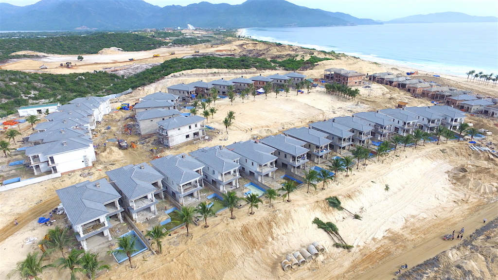 tien do xay dung du an vinpearl long beach villas
